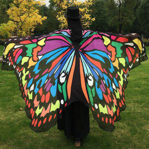 Buy Butterfly Wing Cape Scarf
