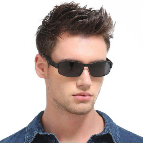 Buy Metal Rectangle Driving Sunglasses