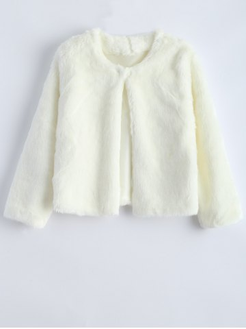 Cheap Short Shearling Faux Fur Jacket