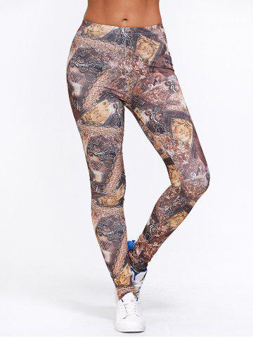 Outfit Ankle Patterned Leggings