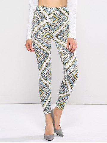Outfits Printed High Waist Leggings COLORMIX XL