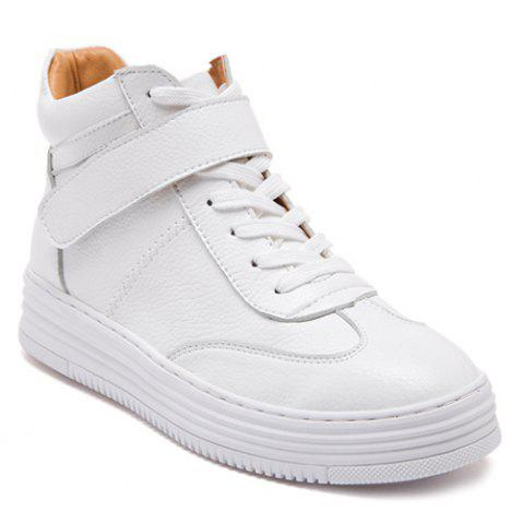 Store Lace-Up High Top Athletic Shoes