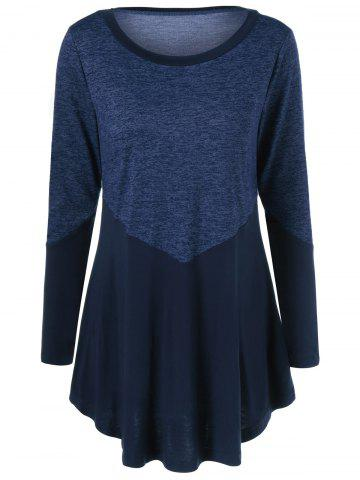 Outfit Patchwork Heather T-Shirt