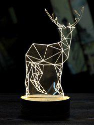 Christmas Deer 3D LED Sleeping Night Light