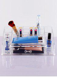 Acrylic Storage Makeup Organizer - TRANSPARENT