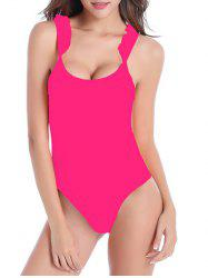 High Cut Ruffle One-Piece Swimwear