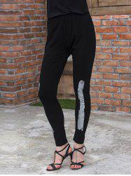 Slim Gilding Stretchy Leggings