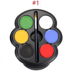 6 Colours Face Paint Kit -