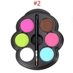 6 Colours Face Paint Kit