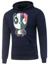 Hooded Long Sleeve Gloomy Bear Print Hoodie