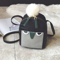 Cartoon Crocodile Embossed Crossbody Bag