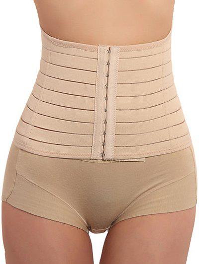 Hook Up Corset ShapewearWOMEN<br><br>Size: 2XL; Color: COMPLEXION; Material: Spandex; Pattern Type: Others; Embellishment: None; Weight: 0.2200kg; Package Contents: 1 x Corset;