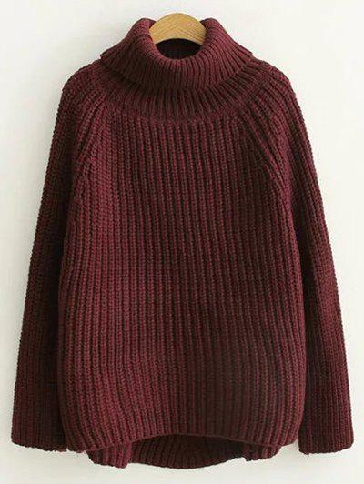Outfit Chunky Knit Turtleneck Sweater