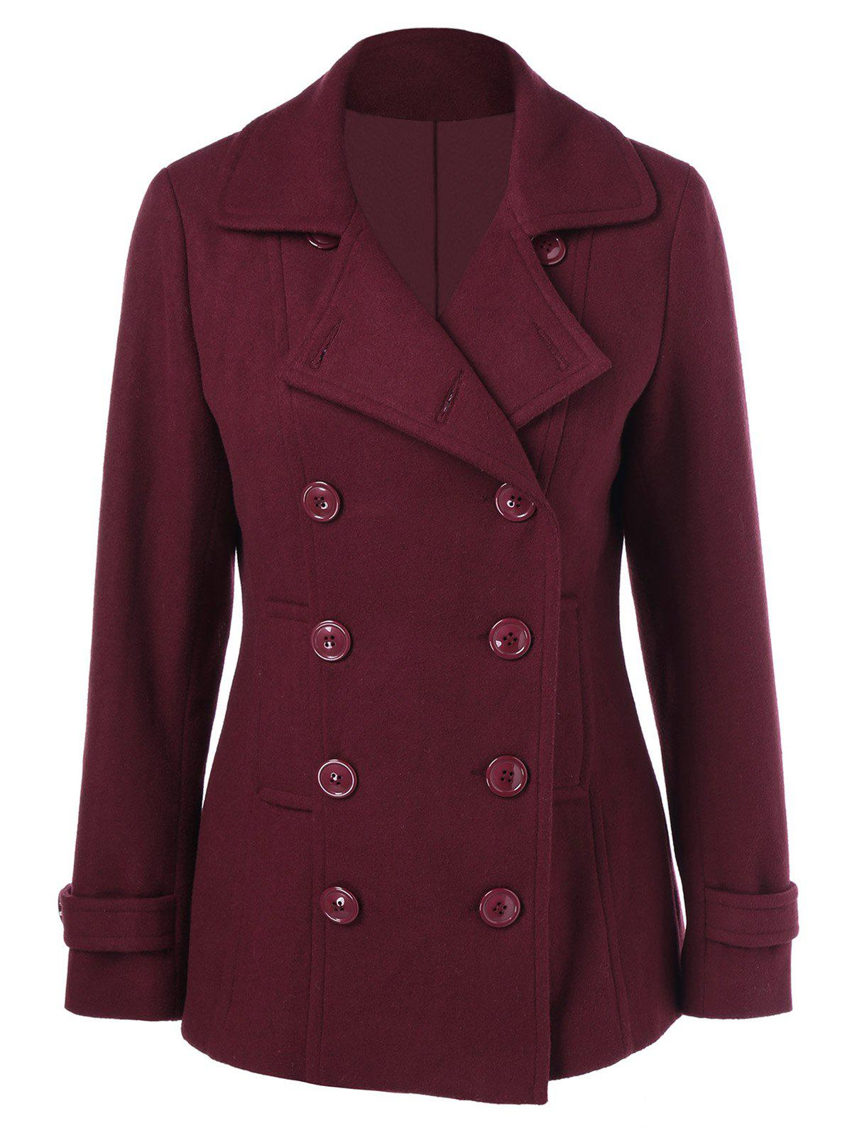 Chic Wool Blend Peacoat