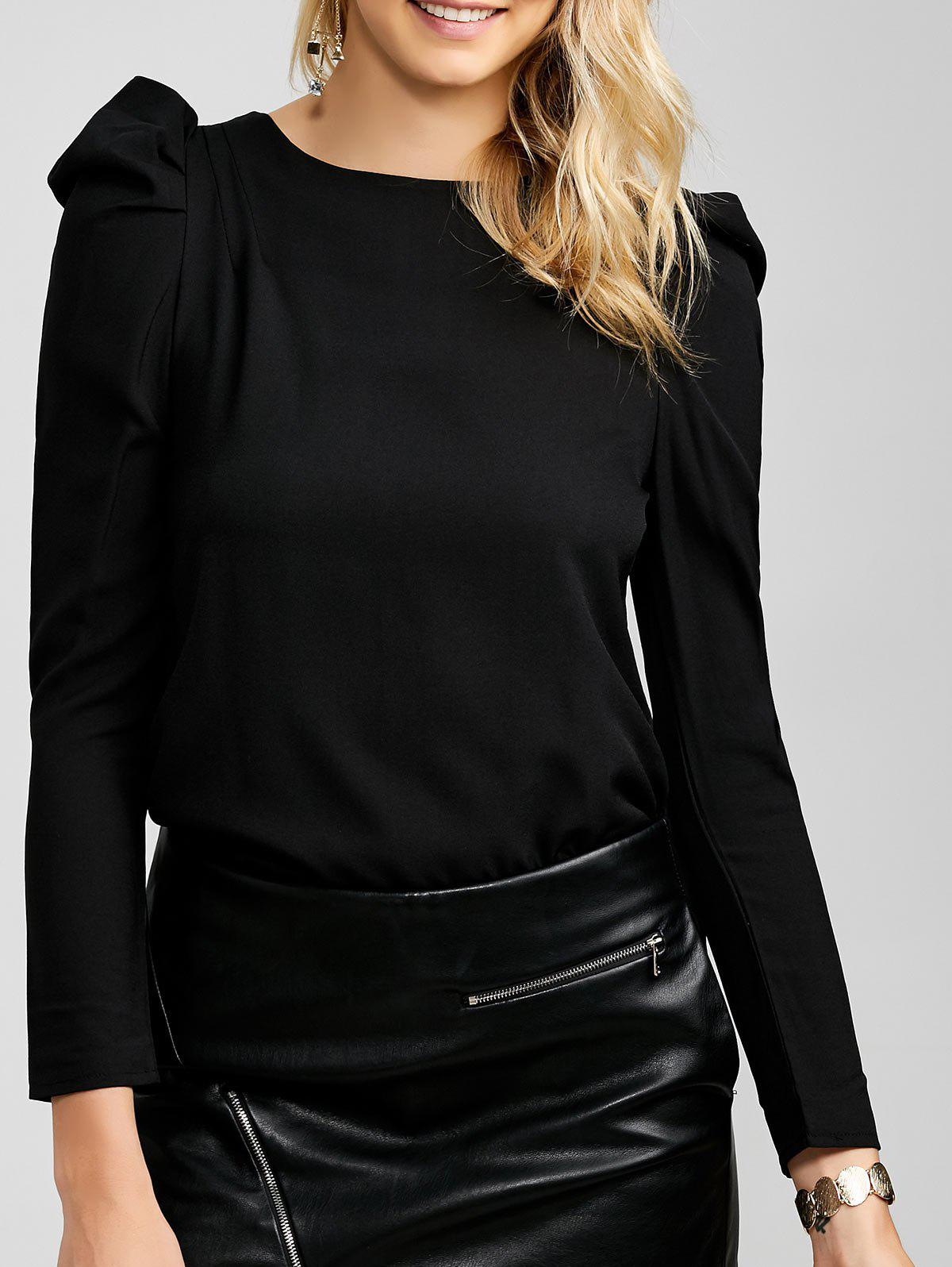 Outfit Chiffon Long Sleeve Tee