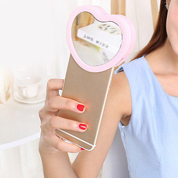 Hot Heart Shape LED Phone Selfie Beauty Light