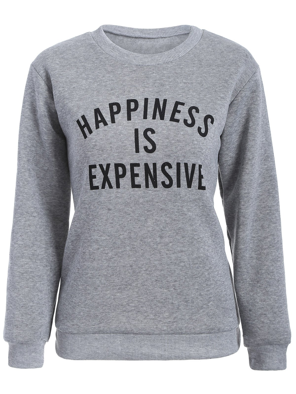Buy Letter Graphic Pullover Sweatshirt
