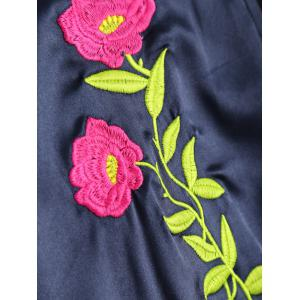 Floral Embroidered Jacket -