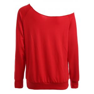 Convertible Collar Funny Sweatshirt -