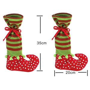 Merry Christmas Gift Sock Candy Bag -