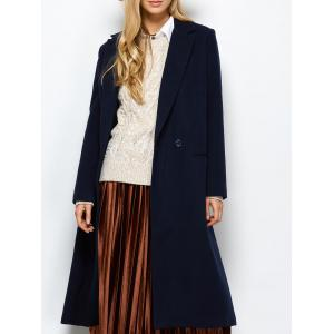 Laple Maxi Coat with Pocket