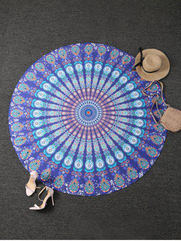 Best Tribal Totem Printed Round Beach Throw