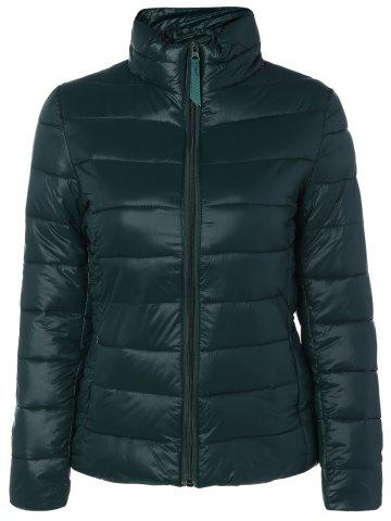 Hot Zip Up Stand Collar Padded Jacket