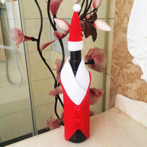 Fashion Santa Clothes Design Christmas Wine Bottle Cover Bag