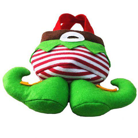Hot New Year Christmas Present Candy Bag - RED AND GREEN  Mobile