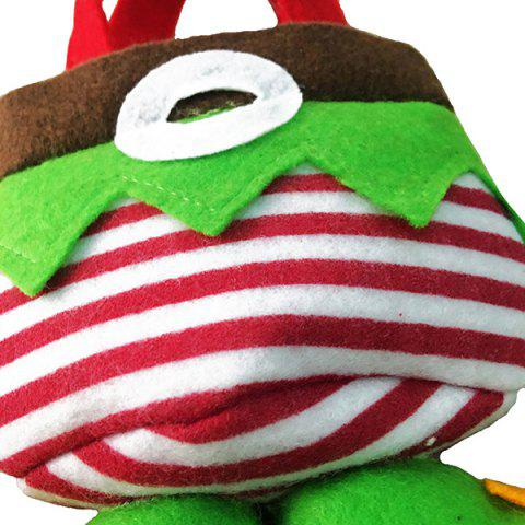 Fashion New Year Christmas Present Candy Bag - RED AND GREEN  Mobile