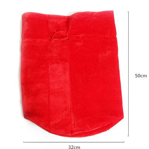 Discount Merry Christmas Santa Claus Plush Candy Gift Bag - RED  Mobile