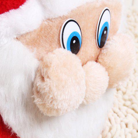 Buy Merry Christmas Santa Claus Plush Candy Gift Bag - RED  Mobile