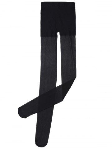 New Slimming Sheer Tights - ONE SIZE BLACK Mobile