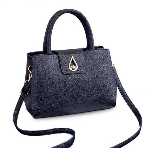 Best Metal Embellished Textured PU Tote