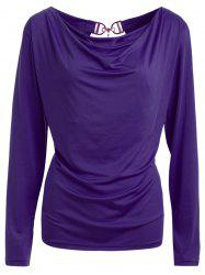 Open Back T-Shirt and Tube Top -