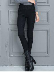Slim Fit High Waist Winter Pencil Pants