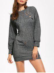 Cutout Mini Long Sleeve Dress