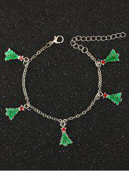 Christmas Tree Pentagram Charm Bracelet
