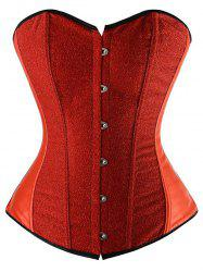Lace-Up Underbust Strapless Corset