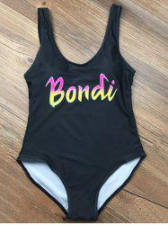 Scoop Neck Padded Bondi Swimwear
