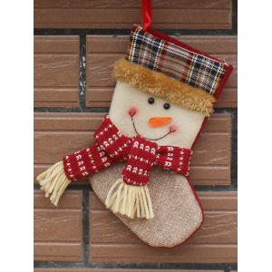 Christmas Tree Hanging Decoration Snowman Present Stocking Sock