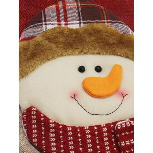 Christmas Snowman Hanging Stocking Decoration Present Bag Sock - COLORMIX