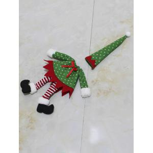 Christmas Dot Clothes Design Wine Bottle Cover Bag -
