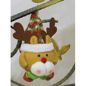 Cute Elk Hanging Doll Pendant Christmas Decoration