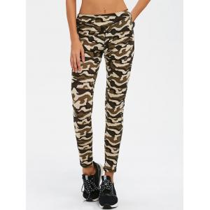 Camouflage Print Exercise Pants