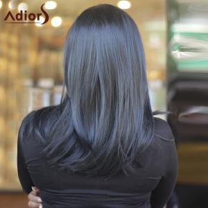 Gorgeous Medium Straight Side Parting Synthetic Capless Wig -
