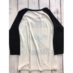 Thanksgiving Raglan Sleeve Arrow Pattern Tee - BLACK 2XL