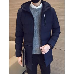 Hooded Zip Up Pocket Padded Coat