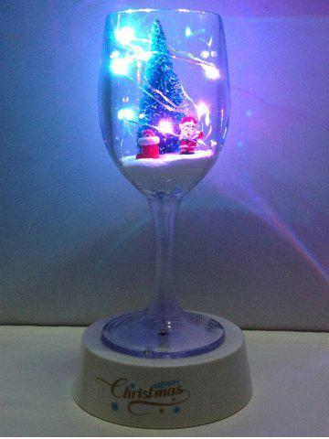 Store Colorful USB Merry Christmas Goblet Cup LED Night Light