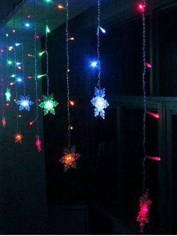 Sale Christmas Indoor Decor Snowflake Pendant LED String Light - COLORFUL  Mobile